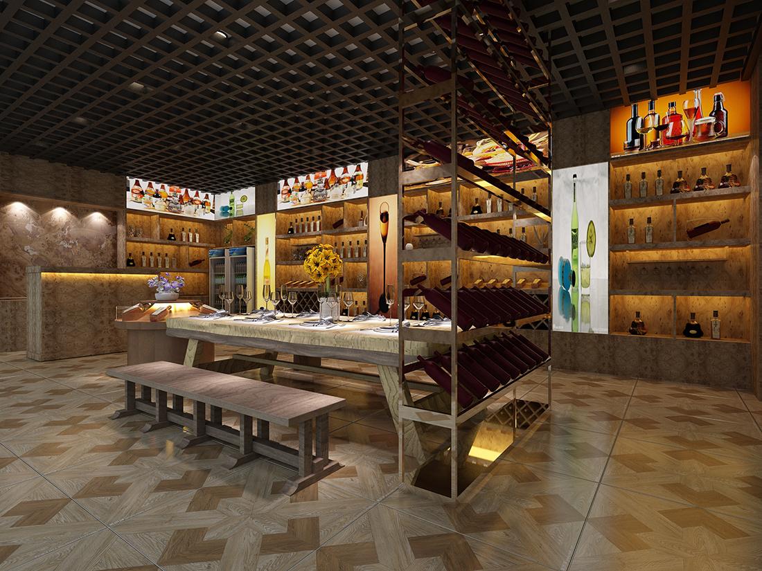 商业展厅 - 商业展厅 - 拓者设计吧|家装效果图联盟