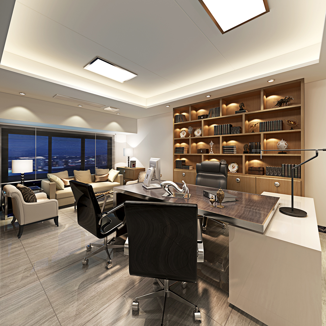 办公空间 - 办公空间 - 拓者设计吧|家装效果图联盟图片